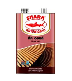 น้ำยารักษาเนื้อไม้ ตราปลาฉลาม