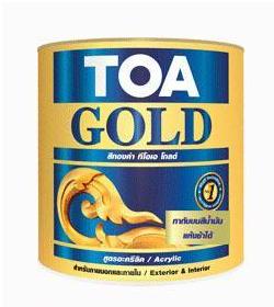 สีทองคำ ทีโอเอ โกลด์ น้ำมันอะคริลิค