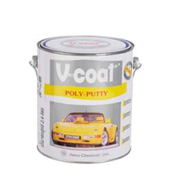 สีโป๊วเหลือง V-COAT