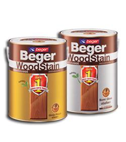 Beger WoodStain สีย้อมไม้เบเยอร์