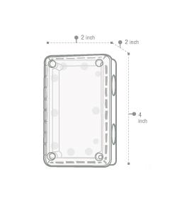 กล่องกันน้ำพลาสติก ฝาใส (PC) Nano. 201c , 202c