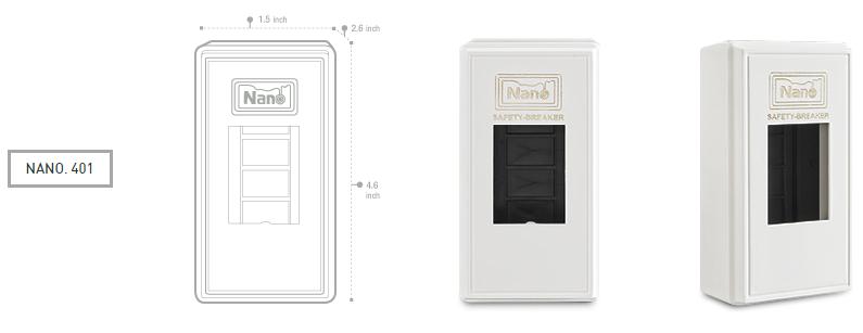 กล่องครอบเบรคเกอร์ Nano. 401